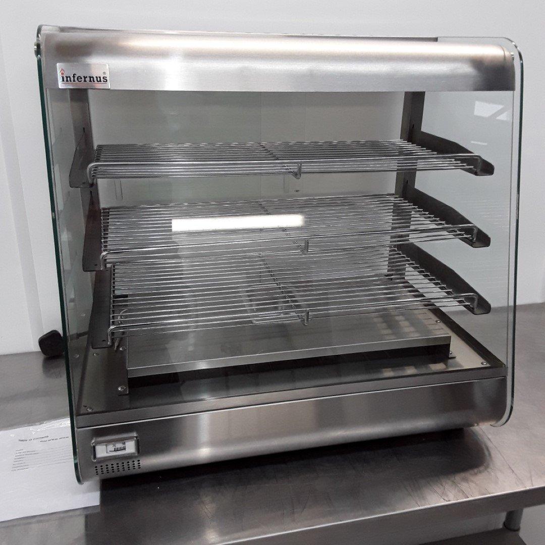 Brand New Infernus 660 SLV Heated Display Food Warmer For Sale