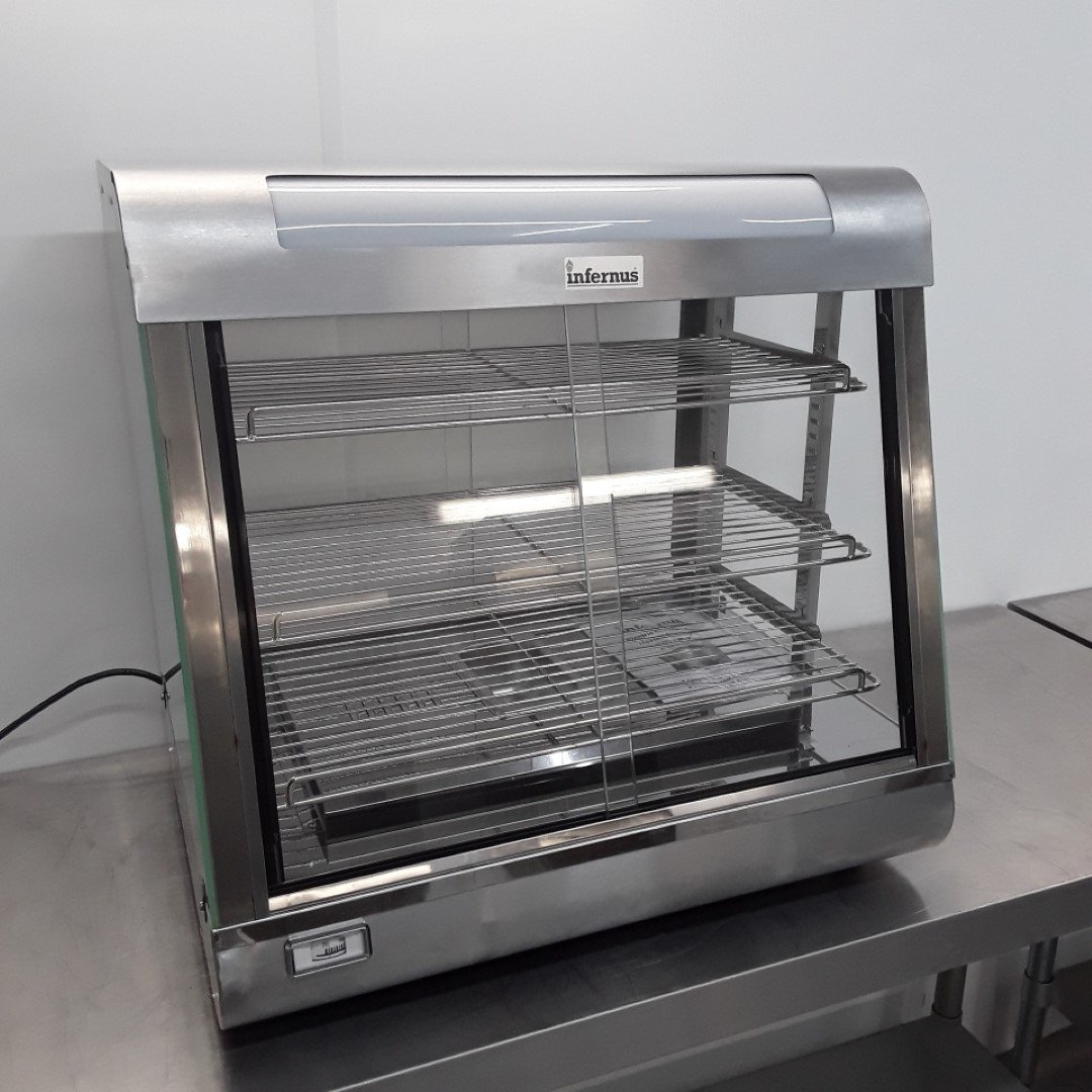Brand New Infernus FW660 Heated Display Food Warmer For Sale