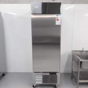 New B Grade Ice-A-cool ICE8950GR Stainless Single Upright Fridge For Sale