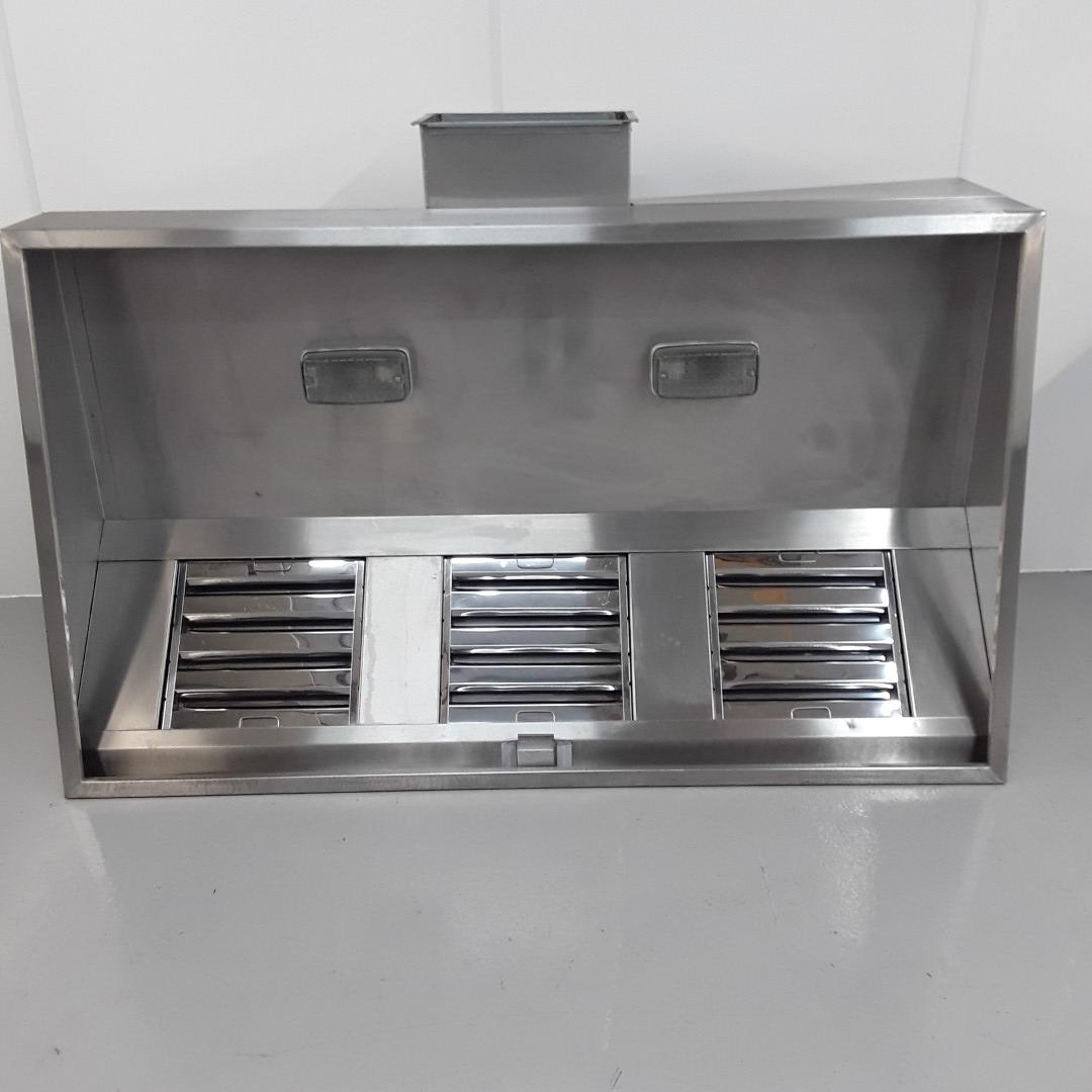 Used   Stainless Extraction Hood For Sale