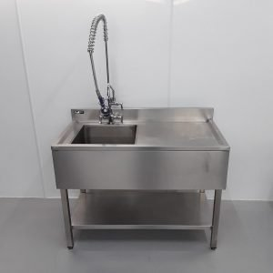Used Kukoo  Stainless Single Sink For Sale