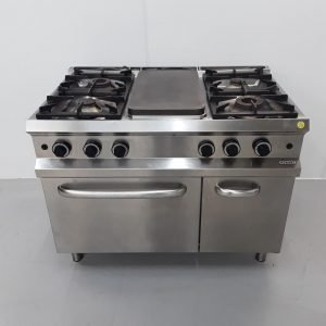 Used Hobart  6 Burner Range Cooker For Sale