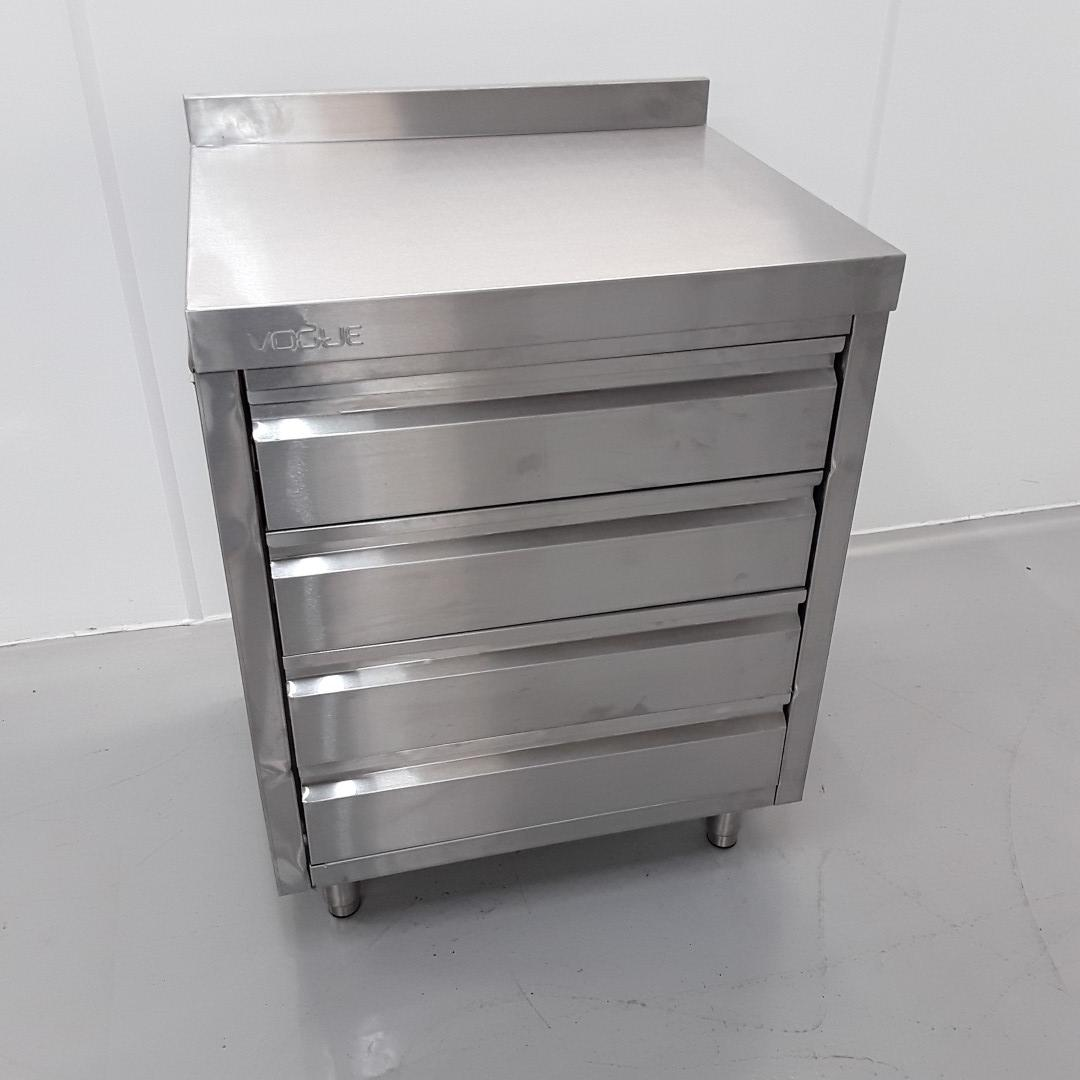 New B Grade Vogue CR988 Stainless Steel Table Drawer For Sale