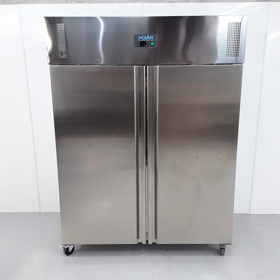 New B Grade Polar U635 Stainless Single Upright Freezer For Sale