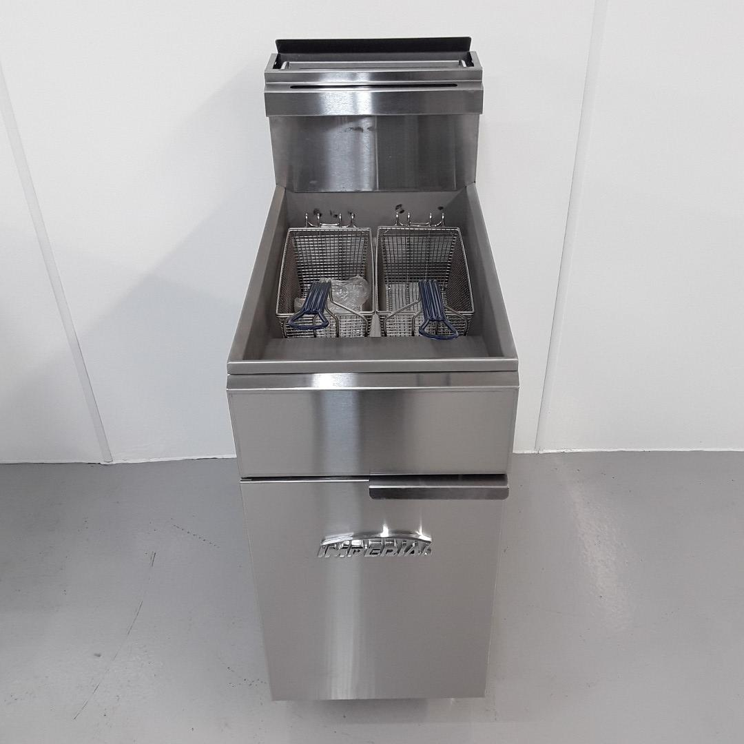 New B Grade Imperial CIFS-40-OP Double Freestanding Fryer For Sale
