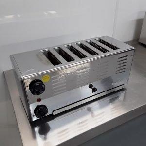 Ex Demo Rowlett DA206 6 Slot Toaster For Sale