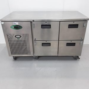 Used Foster  4 Drawer Bench Fridge For Sale