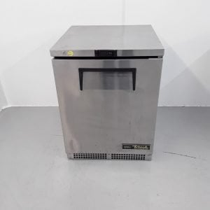 Used True TUC 24 Stainless Single Under Counter Fridge For Sale