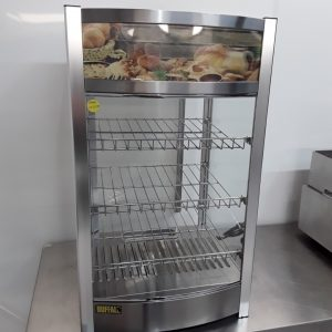 Used Buffalo CK627 Heated Display Food Warmer For Sale