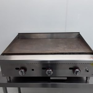 Used   Flat Griddle Table Top For Sale
