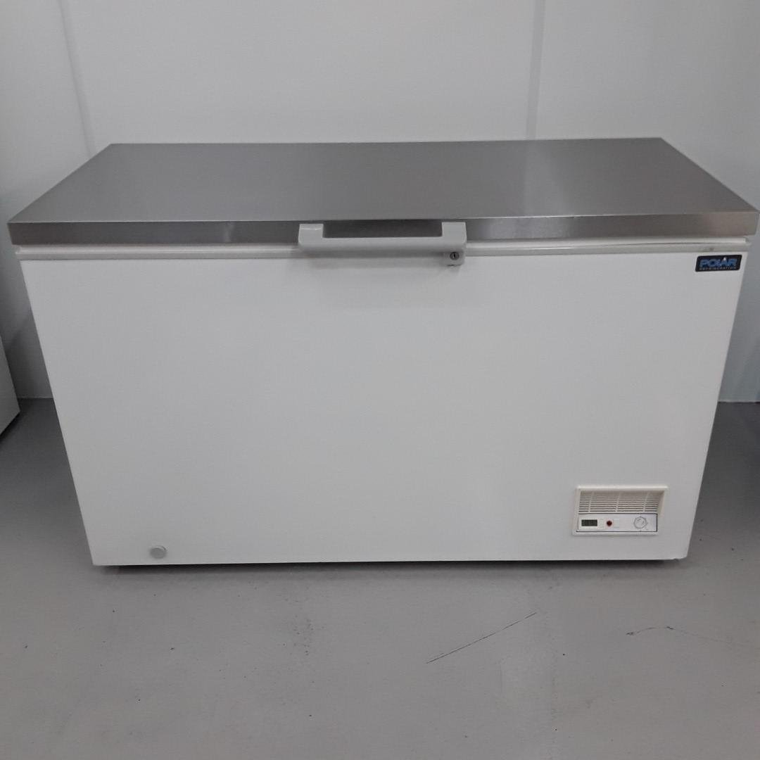 New B Grade Polar CM530 Chest Freezer Stainless Top For Sale