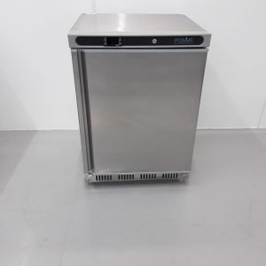 New B Grade Polar CD080 Stainless Single Under Counter Fridge For Sale