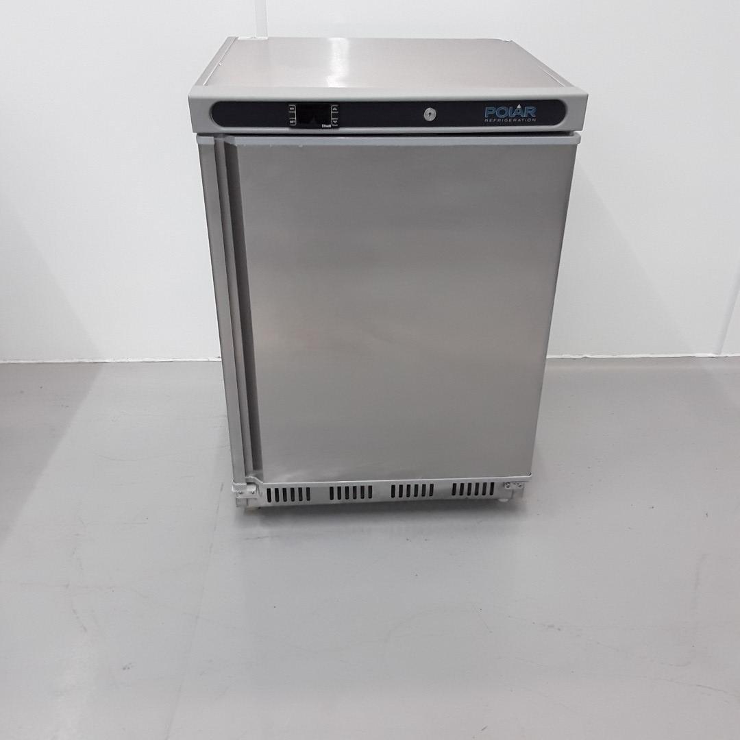 New B Grade Polar CD080 Stainless Single Under Counter Fridge For Sale