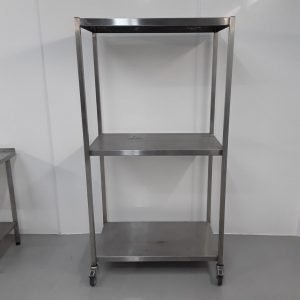 Used   Stainless Rack Shelves For Sale