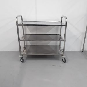 Brand New Imettos  Stainless 3 Tier Trolley For Sale