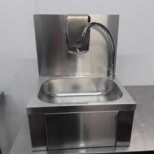 New B Grade   Knee Operated Hand Sink For Sale