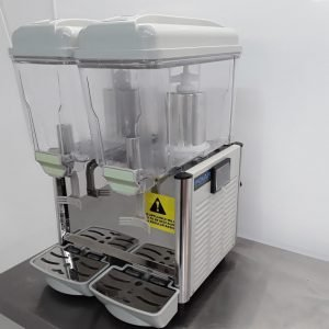 Used Buffalo CF761 Double Chilled Drink Dispenser For Sale