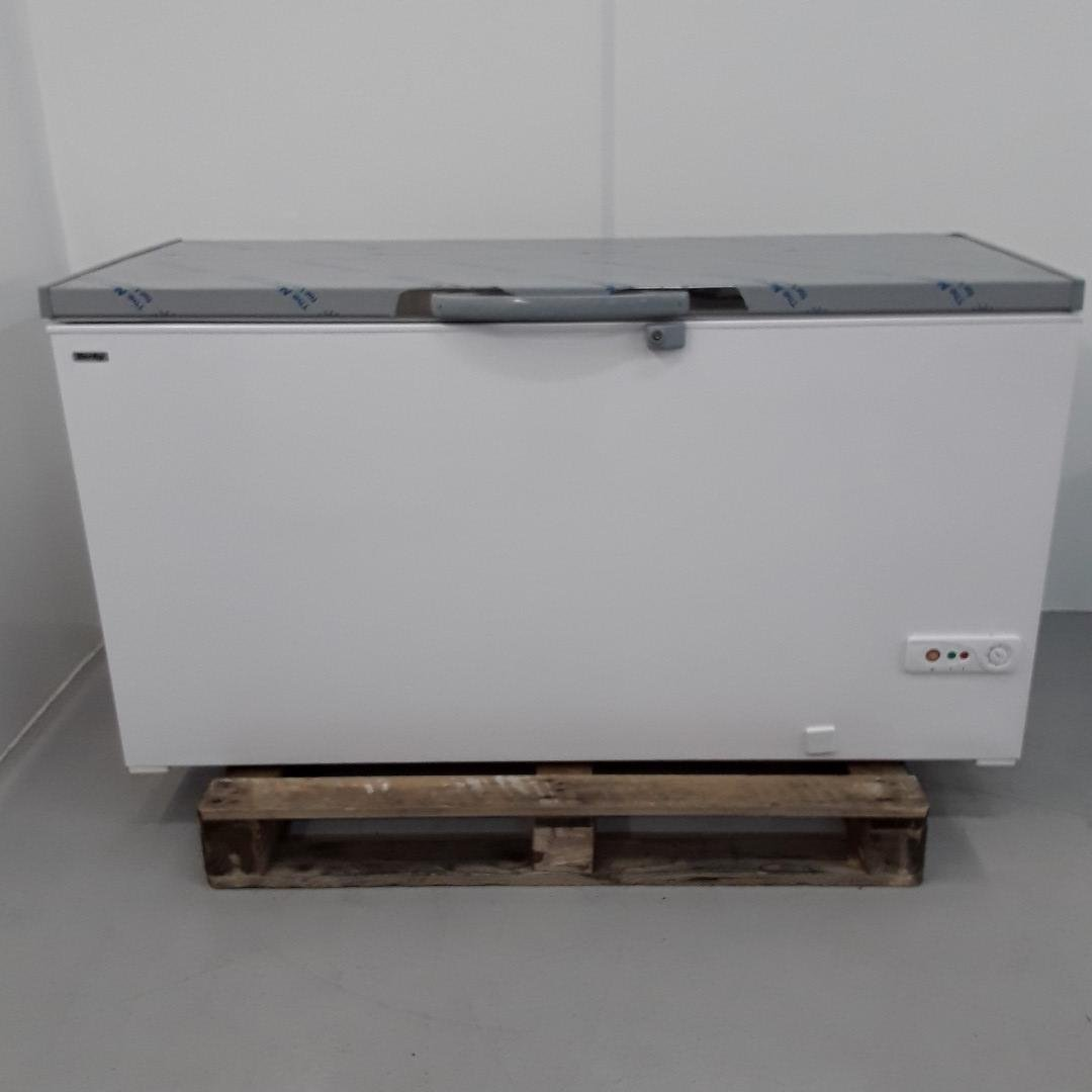 New B Grade Derby F58S Chest Freezer Stainless Top For Sale