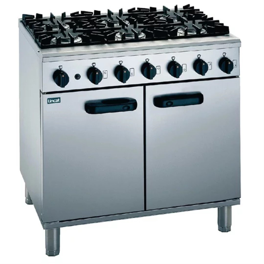 Brand New Lincat SLR9/P 6 Burner Range Cooker For Sale