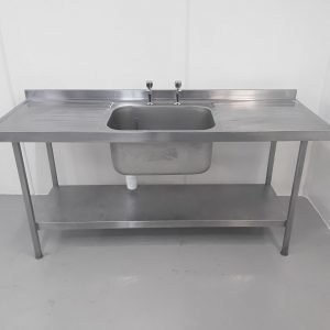 Used   Stainless Single Sink For Sale