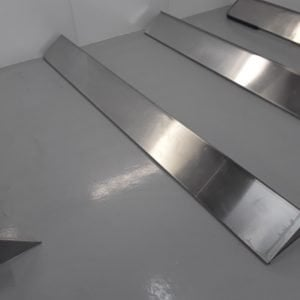 Used   Stainless Wall Shelf For Sale