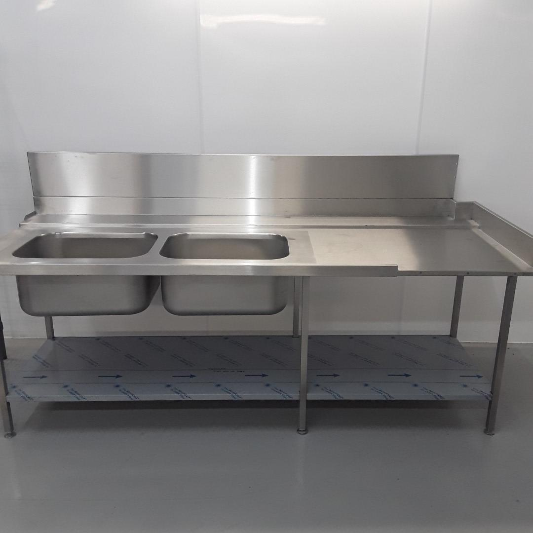New B Grade   Stainless Double Sink For Sale