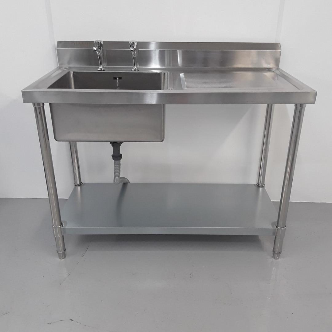 Brand New Diaminox  Stainless Single Sink For Sale