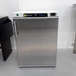 Used Blizzard H200SS Stainless Single Under Counter Fridge For Sale