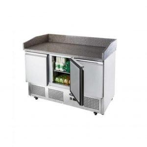 Brand New Atosa ESL3852GR 3 Door Bench Marble Fridge For Sale