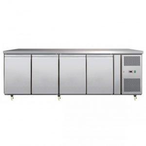 New B Grade Atosa EPF3482 4 Door Bench Freezer For Sale
