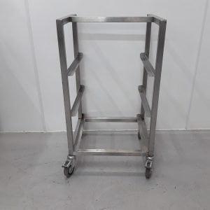 Used   Stainless Dishwasher Stand For Sale