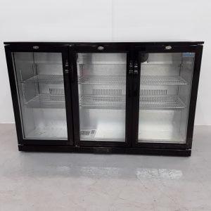 New B Grade Polar GL014 3 Door Bottle Fridge For Sale