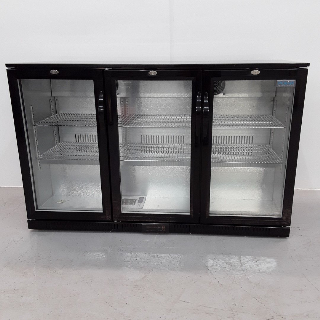 New B Grade Polar GL014 3 Door Bottle Fridge For Sale