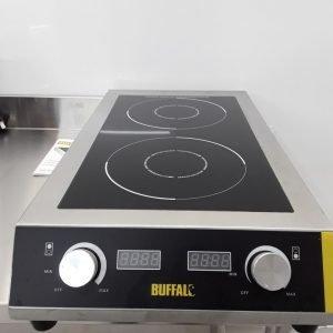 New B Grade Buffalo GF239 Double Induction Hob For Sale