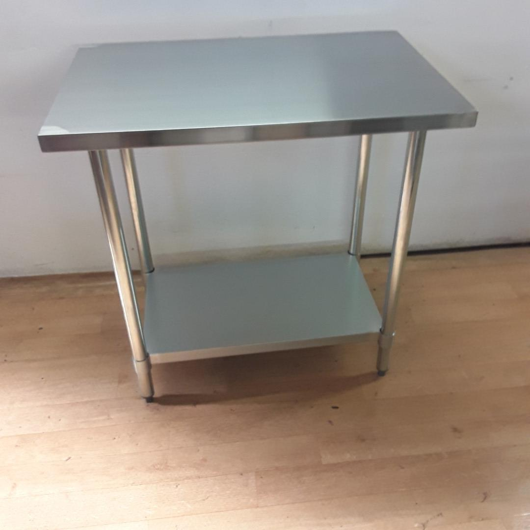 Brand New  Table 600 Stainless Steel Table For Sale