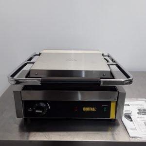 New B Grade Buffalo DM903 Contact Panini Grill For Sale