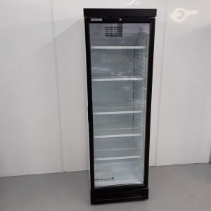 New B Grade Caravell CBC382 Single Upright Display Fridge For Sale