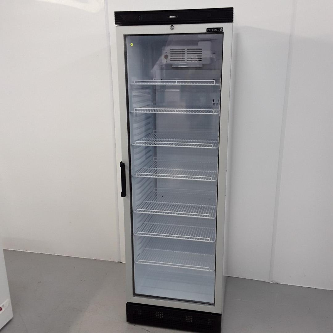 New B Grade Tefcold FS1380 Single Upright Display Fridge For Sale