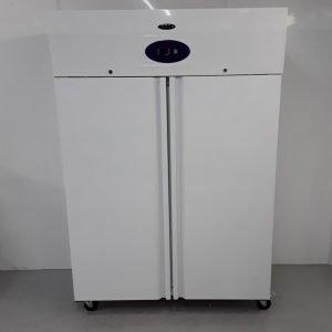 New B Grade Tefcold RK1010WS Double Upright Fridge White For Sale