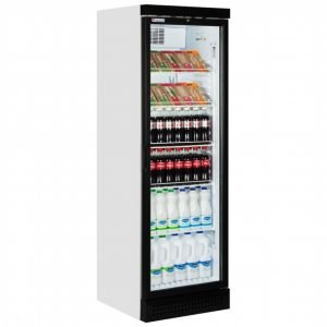 Brand New Carvell CBC382 Upright Display Fridge For Sale