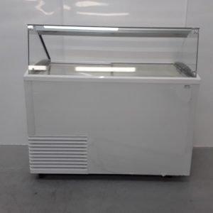 New B Grade Mondial Slant 510 Ice Ice Cream Display Freezer For Sale