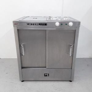 Used Caterlux  Hot Cupboard Carvery Bain Marie Dry For Sale