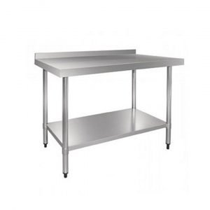 Brand New  Table 900 Splash Back Stainless Steel Table Upstand For Sale