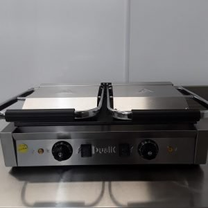 New B Grade Dualit CM112 Contact Panini Grill For Sale