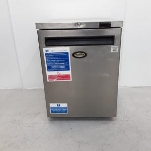 Used Foster HR150 Stainless Under Counter Fridge For Sale