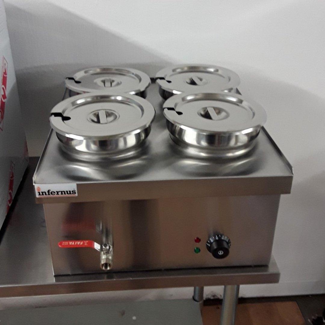 Brand New Infernus BMPOT 4X4 4 Pot Bain Marie 3.5L For Sale
