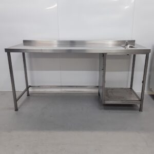 Used   Stainless Steel Table Sink For Sale