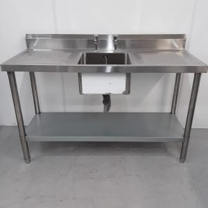 New B Grade Diaminox  Stainless Single Sink For Sale