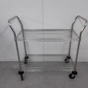 New B Grade   2 Tier Trolley For Sale