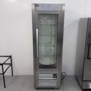 Used Roller Grill RD60TI Rotating Display Freezer For Sale